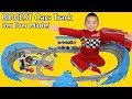 The BIGGEST Disney Cars Track EVER MADE!! Ultimate Florida Speedway Fun Time With Ckn Toys