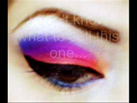Colorful Scene Makeup Tutorial Colorful Makeup Tutorial