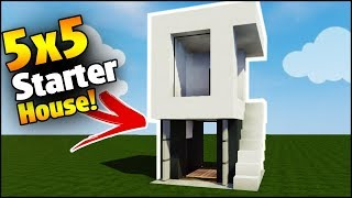 minecraft lets build modern house 7 part 1 game