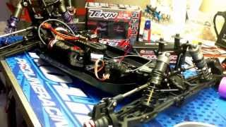 LOSI 8IGHT T E 2.0 RACE ROLLER TEKIN RX8 / T8 2000KV ELECTRIC CONVERSION