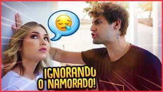 IGNORANDO O NAMORADO POR 24H!! - TROLLANDO NAMORADO [ REZENDE EVIL ]