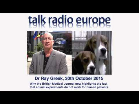Dr Ray Greek, Talk Radio Europe, 30th October 2015