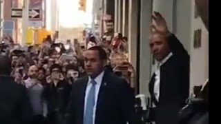 Obama Spotted in NYC | ABC News