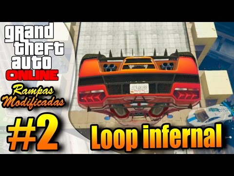GTA V ONLINE COM MODS 2   O LOOP INFERNAL!