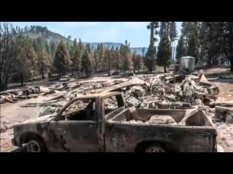 Firefighters keep Yosemite blaze far from sequoia   BREAKING NEWS
