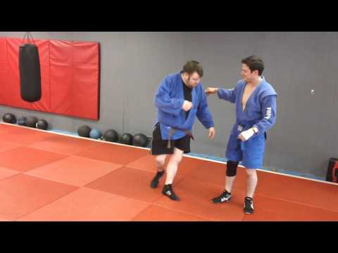 Leg Lace Throw to Leglock-Classic Sambo Image 1