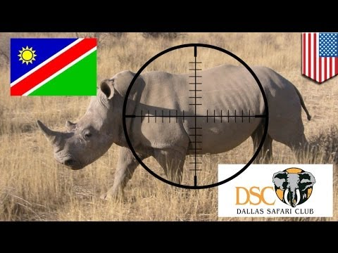 Dallas Safari Club auctions permit to hunt Namibia black rhino for US$350,000