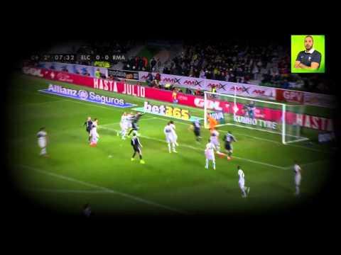 Karim Benzema vs Elche 18 02 2015