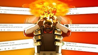 I Use YouTube Comments To Play TF2...