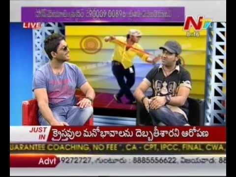 Chit chat with Allu Arjun and Devi Sri Prasad - 01