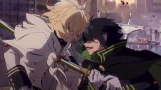 Owari no Seraph Yu kill Mika by accident!!!!
