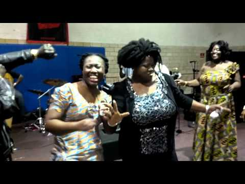 Mercy Asiedu Dances Azonto - Okwahuman Easter Dance