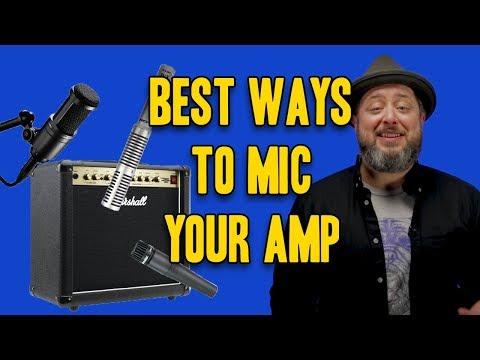 Best Ways To Mic An Amp | Marty Schwartz