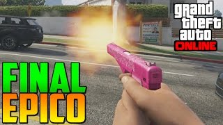 FINAL ÉPICO FAIL!!! - Gameplay GTA 5 Online Funny Moments