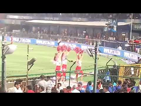 Ipl kxip v rr cheerleader dance