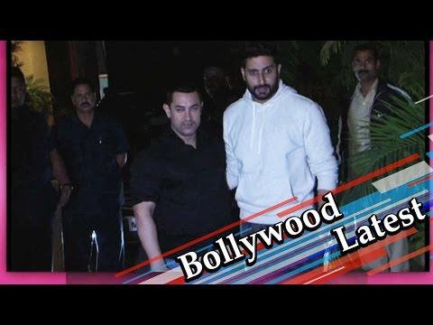 Aamir Khan | Hrithik Roshan | Imran Khan At The Marriage Party Of Kunal Kapoor-Naina Bachchan