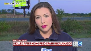 Fiery Crash Kills Five in Kalamazoo