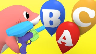 The ABC Song with Baby Shark Family Nursery Rhymes & Kids Songs