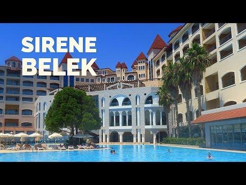 SIRENE Belek Hotel / Summer 2018 / Antalya, Turkey