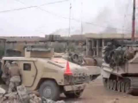 Iraq Combat Footage Close Air Support Fallujah