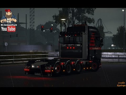 [ETS2 v1.27] Heavy Haulage Chassis Addon for DAF XF Euro6 + ALL DLC´s ready