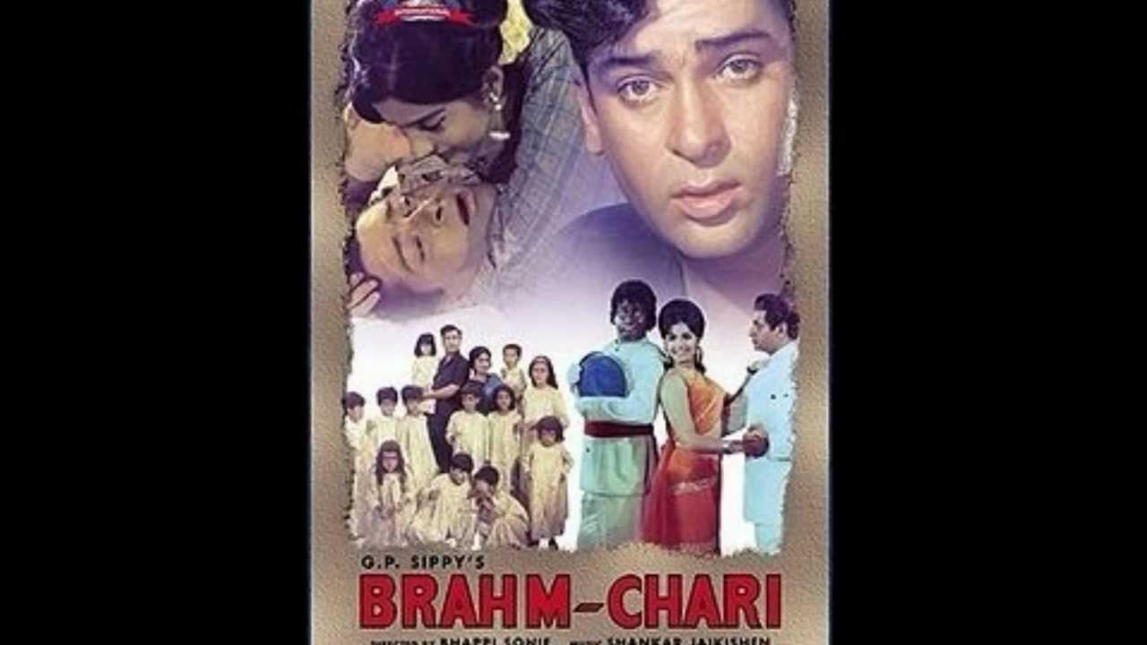 Aajkal Tere Mere Pyar Ke Charche Lyrics - Brahmachari ...