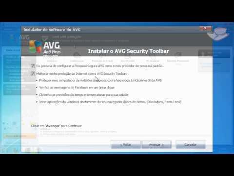 Videoanálise - AVG Anti-Virus Free 2012 - Baixaki