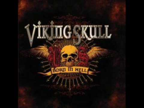 Viking Skull - Born In Hell
