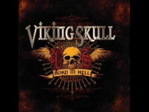 Viking Skull - Born In Hell