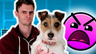 MY DOG MADE ME FAIL! | Geometry Dash #2