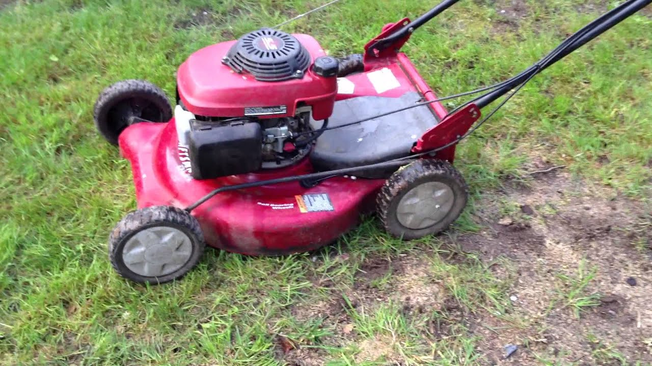 Craftsman Self Propelled 3to1 Mower With