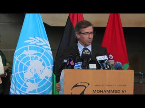 Remarks by SRSG for Libya to the media in Skhirat, Morocco, 10 September 2015