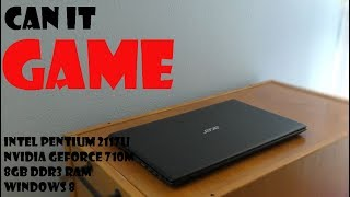 Can It Game ? // Acer Aspire V5 531