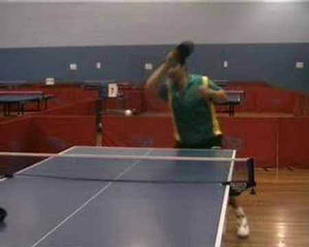 Table Tennis Forehand Topspin Against Backspin Lesson