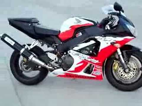 2001 HONDA CBR 929 ERION RACING EDITION CROTCH ROCKET Video