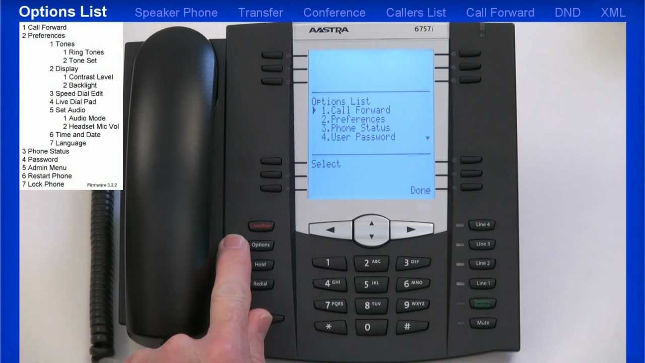 Mitel 174 6735i 6737i 6755i 6757i Tutorial End User