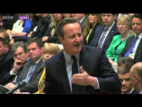 Jeremy Corbyn takes on David Cameron at PMQs (27th April)