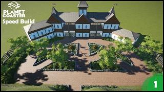 Planet Coaster | Speed Build #1 - Entrance