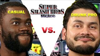 Casual VS Drunk Pro - Super Smash Bros Melee