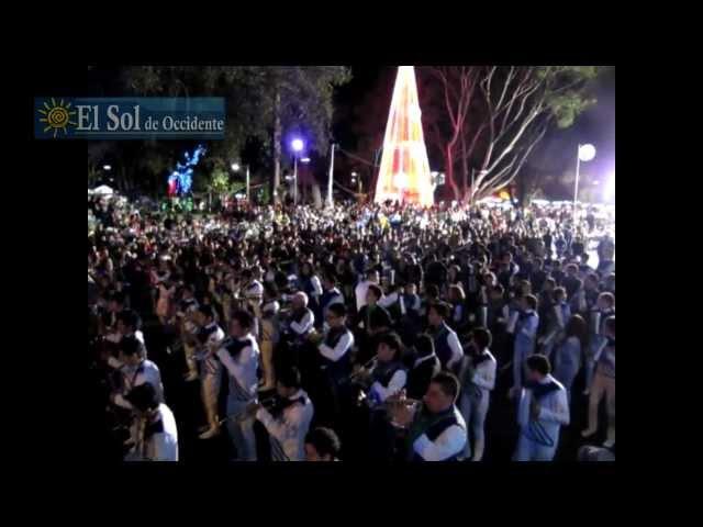Desfile Navideño de Bandas y Carrozas 2012 - El Sol de Occidente