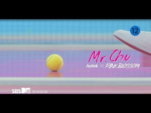 Apink 에이핑크 4TH MINI Pink Blossom Mr.Chu (미스터 츄)...