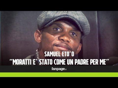 """Eto'o: """"Al calcio italiano manca Massimo Moratti"""""""