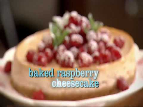 Baked raspberry and ricotta cheesecake (????)