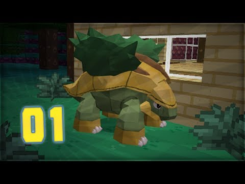 Pixelmon Minecraft Adventure Series: Part 1 Pokémon Resized Version 2.5.7
