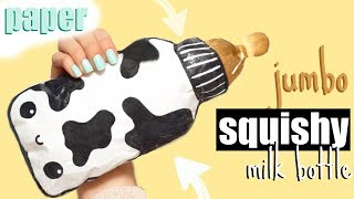 DIY JUMBO PAPER SQUISHY | How to make a squishy without foam