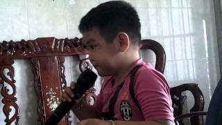Be Nguyen Huy 3 tuoi karaoke Chau Di Mau Giao