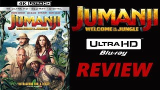 Jumanji Welcome To The Jungle 4K Bluray Review | Dolby Atmos