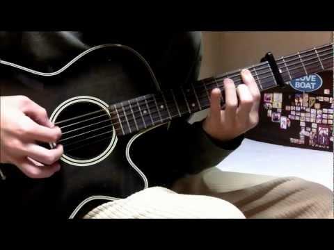 Clannad ~After Story~ OP - Toki Wo Kizamu Uta Guitar Cover (solo)