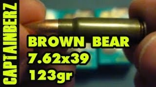 7.62x39 Brown Bear (123gr, FMJ)
