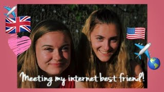 Meeting My Internet Best Friend! 3,945 miles ♡